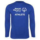 Performance Royal Longsleeve Shirt-Athlete
