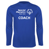 Performance Royal Longsleeve Shirt-Coach