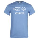 Light Blue T Shirt-Athlete