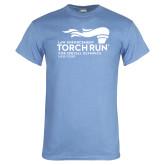 Light Blue T Shirt-Law Enforcement Torch Run