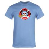 Light Blue T Shirt-Polar Plunge