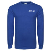 Royal Long Sleeve T Shirt-Primary Mark Horizontal