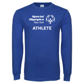Royal Long Sleeve T Shirt-Athlete