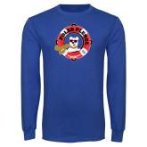 Royal Long Sleeve T Shirt-Polar Plunge