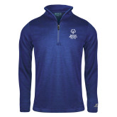 Russell Royal Heather 1/4 Zip-Primary Mark Vertical