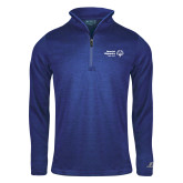 Russell Royal Heather 1/4 Zip-Primary Mark Horizontal