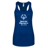 Next Level Ladies Royal Ideal Racerback Tank-Primary Mark Vertical
