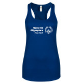 Next Level Ladies Royal Ideal Racerback Tank-Primary Mark Horizontal