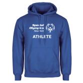 Royal Fleece Hoodie-Athlete
