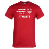 Red T Shirt-Athlete