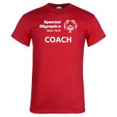 Red T Shirt-Coach