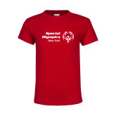 Youth Red T Shirt-Primary Mark Horizontal