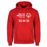 Red Fleece Hoodie-Coach