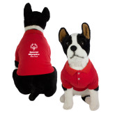 Classic Red Dog Polo-Primary Mark Vertical