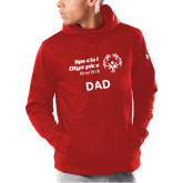 Under Armour Red Armour Fleece Hoodie-Dad