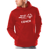 Under Armour Red Armour Fleece Hoodie-Coach