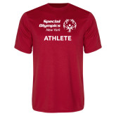Performance Red Tee-Athlete