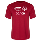 Performance Red Tee-Coach