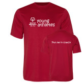 Performance Red Tee-Young Athletes Shirt Front