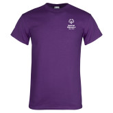 Purple T Shirt-Primary Mark Vertical