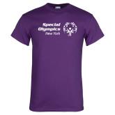 Purple T Shirt-Primary Mark Horizontal