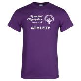 Purple T Shirt-Athlete