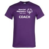 Purple T Shirt-Coach