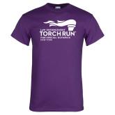 Purple T Shirt-Law Enforcement Torch Run