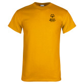 Gold T Shirt-Primary Mark Vertical