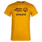 Gold T Shirt-Athlete