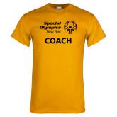 Gold T Shirt-Coach