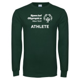 Dark Green Long Sleeve T Shirt-Athlete