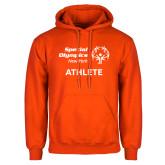 Orange Fleece Hoodie-Athlete