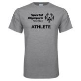 Grey T Shirt-Athlete