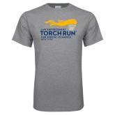 Grey T Shirt-Law Enforcement Torch Run