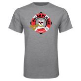 Grey T Shirt-Polar Plunge