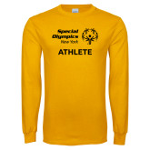 Gold Long Sleeve T Shirt-Athlete