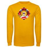 Gold Long Sleeve T Shirt-Polar Plunge