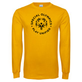 Gold Long Sleeve T Shirt-Play Unified