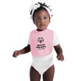 Light Pink Baby Bib-Primary Mark Vertical
