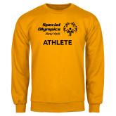 Gold Fleece Crew-Athlete