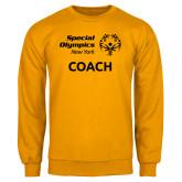 Gold Fleece Crew-Coach