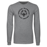 Grey Long Sleeve T Shirt-Play Unified