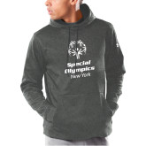 Under Armour Carbon Armour Fleece Hoodie-Primary Mark Vertical