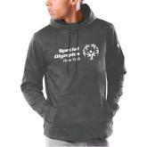 Under Armour Carbon Armour Fleece Hoodie-Primary Mark Horizontal