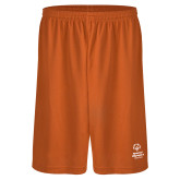 Performance Classic Orange 9 Inch Short-Primary Mark Vertical