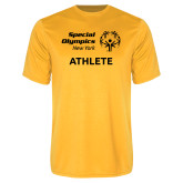 Performance Gold Tee-Athlete