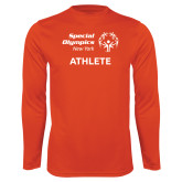 Performance Orange Longsleeve Shirt-Athlete