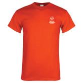 Orange T Shirt-Primary Mark Vertical