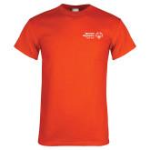Orange T Shirt-Primary Mark Horizontal